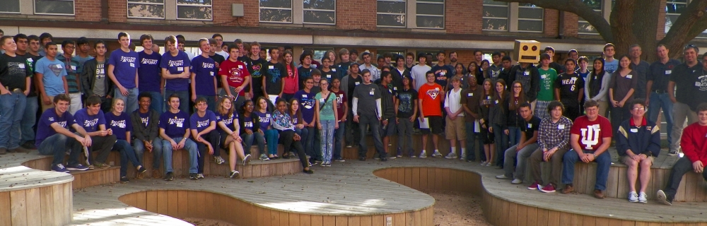 All of the attendants at the 2012 Spectrum FRC Mock Kickoff