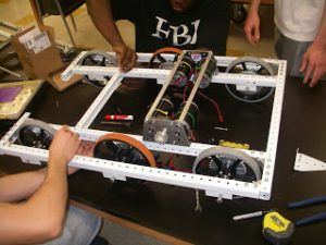 Build Day 15: Robot is coming together