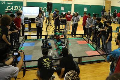 HoustonISD VEX League Day 1