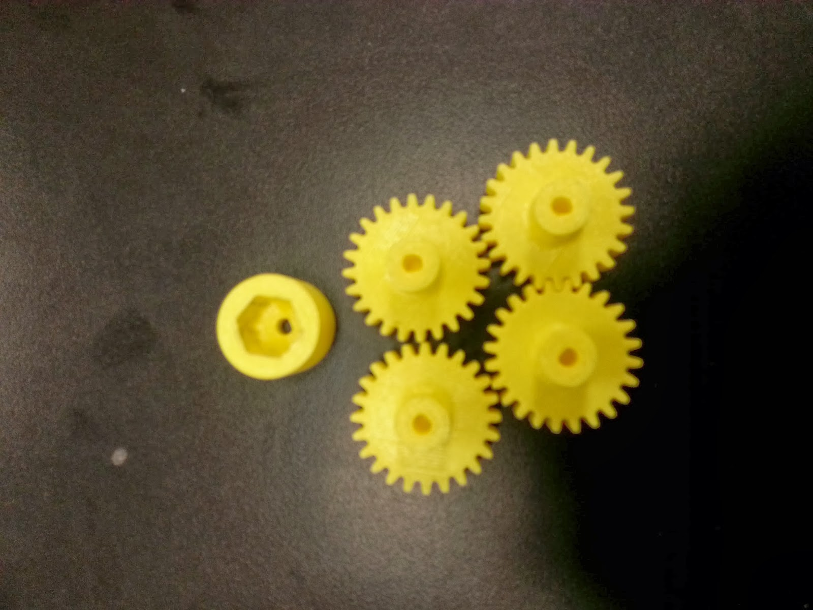Day 34: Withholding allowance and 3D printed parts