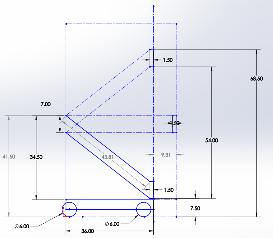 Day 4: More Prototyping & 4-Bar CAD
