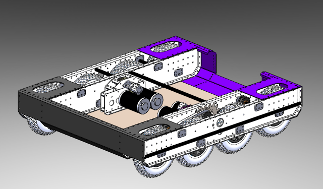 Day 24: Drive Train CAD