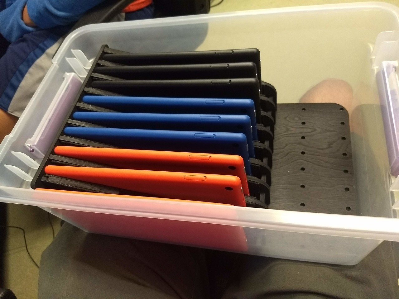Scouting Tablets and Storage