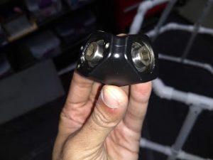 90 degree adapter prototype