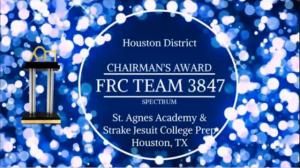 Chairman's Award Essay and Executive Summary 2020